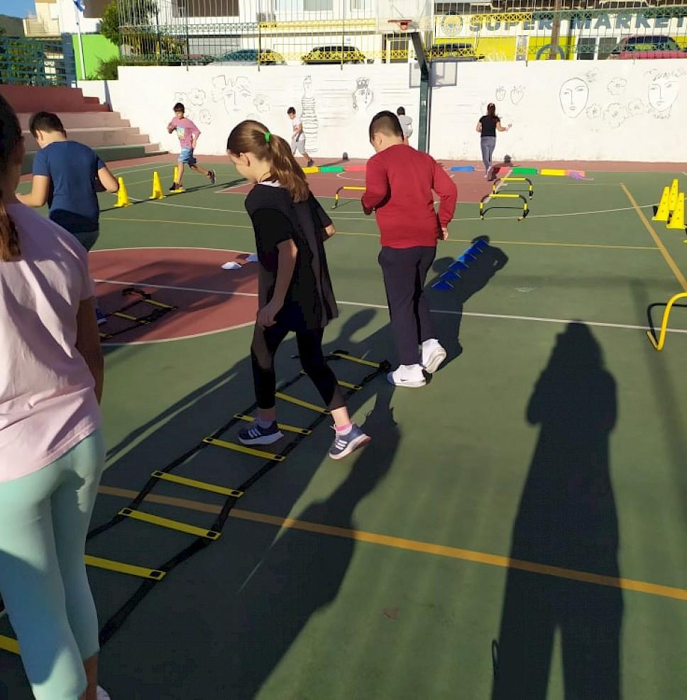 Χαμόγελα και αθλητισμός στα σχολεία του Δήμου